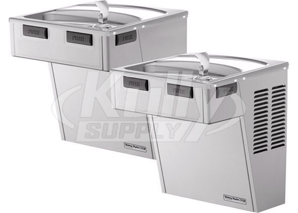 Incredible Halsey Taylor Hac8Fs Bl Ss Stainless Steel Dual Drinking Fountain Wiring Cloud Hisonuggs Outletorg