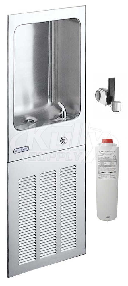 Elkay Ljnem8fk Fully Recessed Water Cooler W Glass Filler