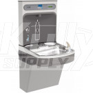 Elkay EZH2O LZS8WSLK Filtered Drinking Fountain with Bottle-Filling Station
