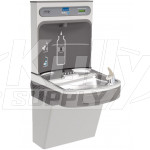 Elkay EZH2O EZS8WSSK Stainless Steel Drinking Fountain with Bottle Filler