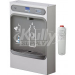 Elkay EZH2O LZWSSM GreenSpec Filtered Stainless Steel Surface Mount Bottle Filling Station