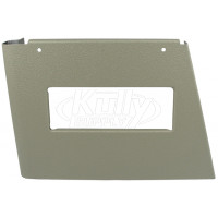 Elkay 22946C Right Side Panel Grey Beige w/ Handle Hole