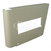 Elkay 22939C Left Panel Grey Beige w/ Handle Hole