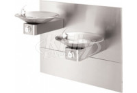 Haws 1011MS Bi-Level Swirl Bowl NON-REFRIGERATED Drinking Fountain