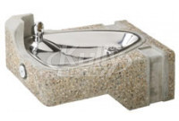 Haws 1047 Stone Aggregate Wall Mounted Drinking Fountain
