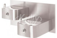 Haws 1119FR Bi-Level NON-REFRIGERATED Drinking Fountain