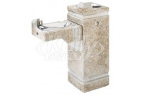 Haws 3150FR Stone Aggregate Freeze-Resistant Outdoor Drinking Fountain