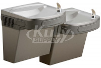 Elkay EZSTLDDLC NON-REFRIGERATED Dual Drinking Fountain