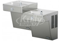 Elkay VRCTLFRDDSC Bi-Level Frost Resistant NON-REFRIGERATED Drinking Fountain