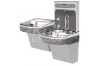 Elkay EZH2O LZSTLG8WSLK GreenSpec Filtered Dual Drinking Fountain with Bottle Filler