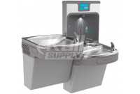 Elkay Enhanced EZH2O LZSTL8WSLP Filtered Dual Drinking Fountain with Bottle Filler