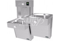 Elkay EZH2O VRCTLR8WSK Heavy Duty Vandal-Resistant Dual Drinking Fountain with Bottle Filler