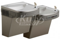 Elkay LZOSTL8LC Filtered Sensor-Operated Dual Drinking Fountain