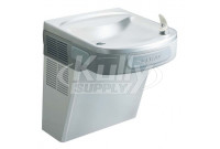 Elkay EZSVRDS Stainless Steel NON-REFRIGERATED Drinking Fountain with Vandal-Resistant Bubbler