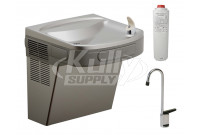Elkay LZS8LF Filtered Drinking Fountain with Glass Filler