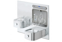 Elkay EZWS-EDFP217K Soft Sides Intergral Bottle Filling Station NON-REFRIGERATED Drinking Fountain