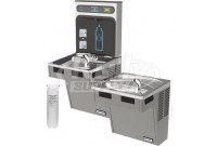 Hasley Taylor HydroBoost HTHB-HAC8BLPV-WF Filtered Dual Drinking Fountain with Bottle Filler