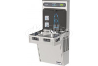 Halsey Taylor HydroBoost HTHB-HAC8-SS Stainless Steel Drinking Fountain with Bottle Filler