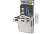 Halsey Taylor HydroBoost HTHB-HACG8SS-WF GreenSpec Filtered Stainless Steel Drinking Fountain with Bottle Filler