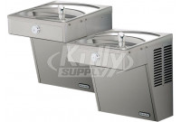 Elkay VRCTLDDSC NON-REFRIGERATED Vandal-Resistant Dual Drinking Fountain