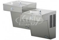 Elkay VRCTLSC8SC Vandal-Resistant Dual Drinking Fountain with Louver Screens