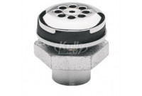 Haws 6466 Vandal-Resistant Waste Strainer Assembly (with Tailpiece)