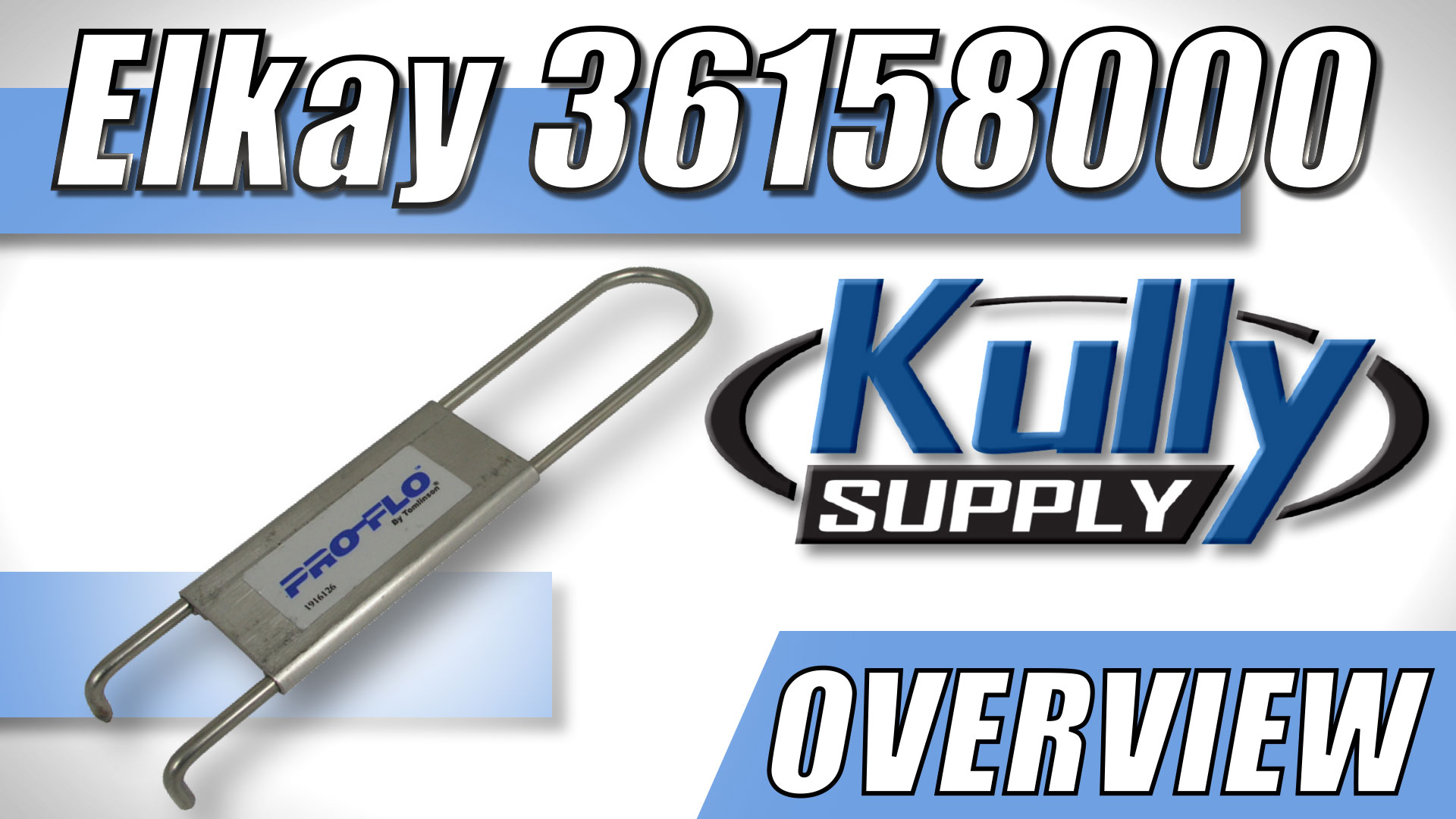 Overview Video: Elkay Spanner Wrench (36158000)