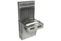 Halsey Taylor HydroBoost HTHB-HACLRWF-PV Filtered NON-REFRIGERATED Drinking Fountain with Bottle Filler