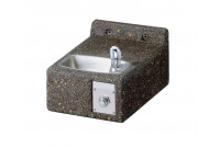 Elkay LK4593FR Stone Aggregate Freeze Resistant Outdoor Drinking Fountain