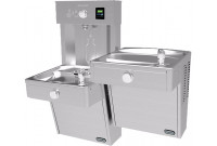 Elkay EZH2O VRCTLR8WSK Bi-Level Heavy Duty Bottle Filling Station