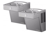 Halsey Taylor HVR8BL-ADA Vandal-Resistant Dual Drinking Fountain