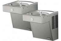 Elkay VRCTLRDDSC NON-REFRIGERATED Vandal-Resistant Dual Drinking Fountain