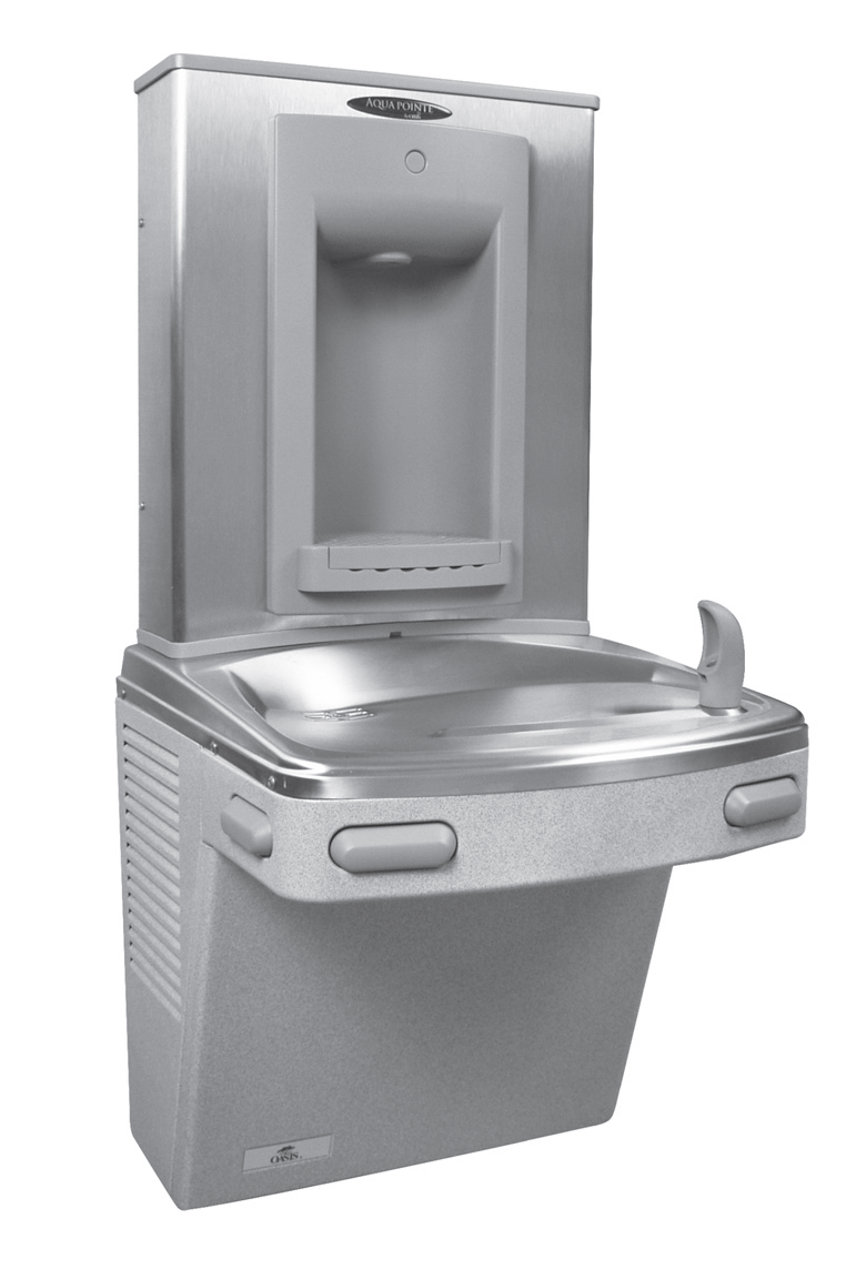 Oasis P8SBF Stainless Steel VersaFiller Water Cooler (Discontinued)
