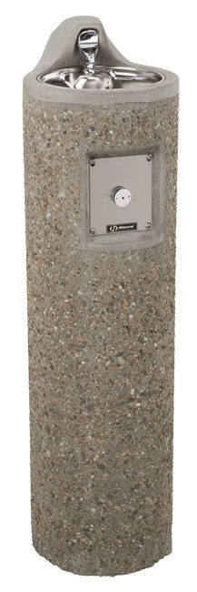 Haws 3060 Stone Aggregate Outdoor Drinking Fountain