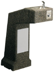 Halsey Taylor 4590-FR Freeze Resistant Stone Aggregate Outdoor Drinking Fountain