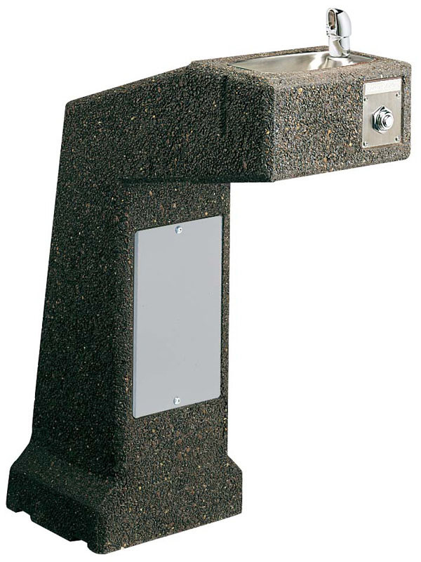 Elkay LK4590FR Stone Aggregate Freeze Resistant Outdoor Drinking Fountain