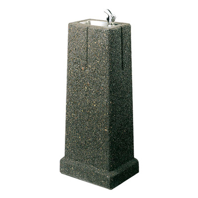 Elkay LK4591 Stone Aggregate Outdoor Drinking Fountain