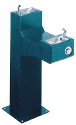 Halsey Taylor 4720FR Freeze Resistant Two Station Outdoor Drinking Fountain