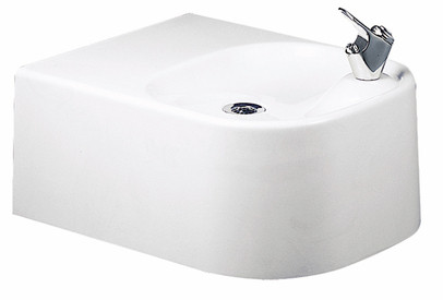 Elkay EDF214WC Soft Sides Composite Gel-Coated Drinking Fountain (Discontinued)