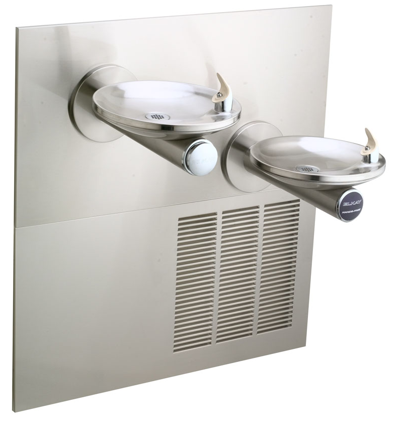 Elkay ENOBM28K Sensor Operated In-Wall Dual Drinking Fountain