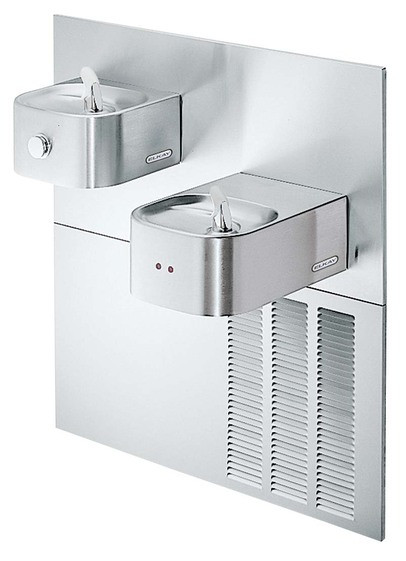 Elkay EROM28K Sensor Operated In-Wall Dual Drinking Fountain