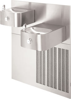 Haws H1119.8 Water Cooler (Refrigerated Drinking Fountain) 8 GPH