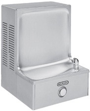 Elkay OHFAVR8S1Z Stainless Steel Backsplash Outdoor Drinking Fountain
