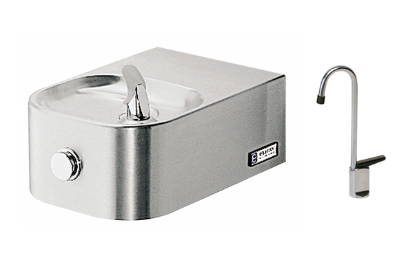 Elkay EDFP214FC NON-REFRIGERATED In-Wall Drinking Fountain with Glass Filler