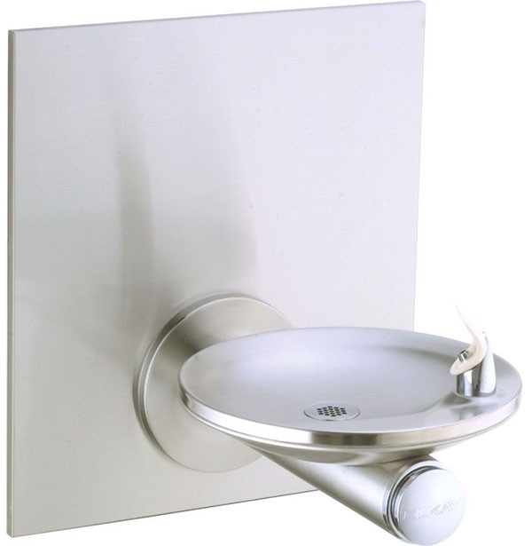 Elkay EDFPBWM114FPK Non-Refrigerated, Freeze Resistant In-Wall Drinking Fountain with Vandal-Resistant Bubbler