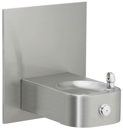 Elkay EHWM214FPK Freeze Resistant, NON-REFRIGERATED Heavy Duty Vandal-Resistant In-Wall Drinking Fountain