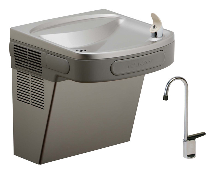 Elkay EZSDLF NON-REFRIGERATED Drinking Fountain with Glass Filler