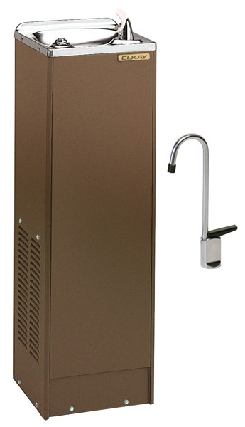 Elkay FD7005TF1Z Sandalwood Drinking Fountain with Glass Filler