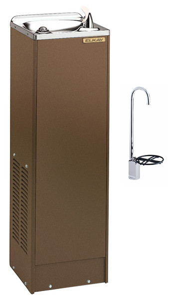 Elkay FD70010TF1Z Sandalwood Drinking Fountain with Glass Filler