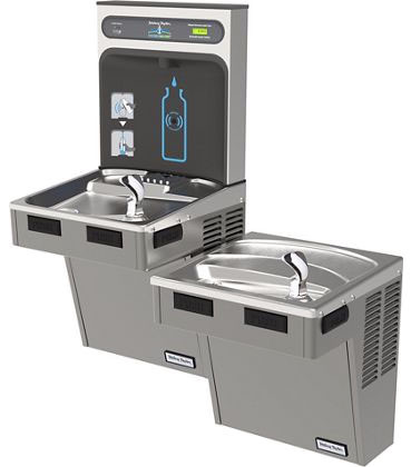 Hasley Taylor HydroBoost HTHB-HAC8BLPV-NF Dual Drinking Fountain with Bottle Filler